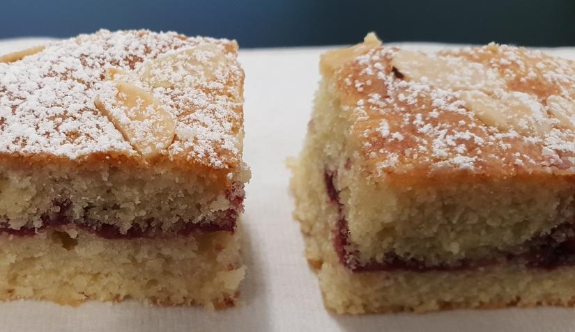Cherry Bakewell Sponge
